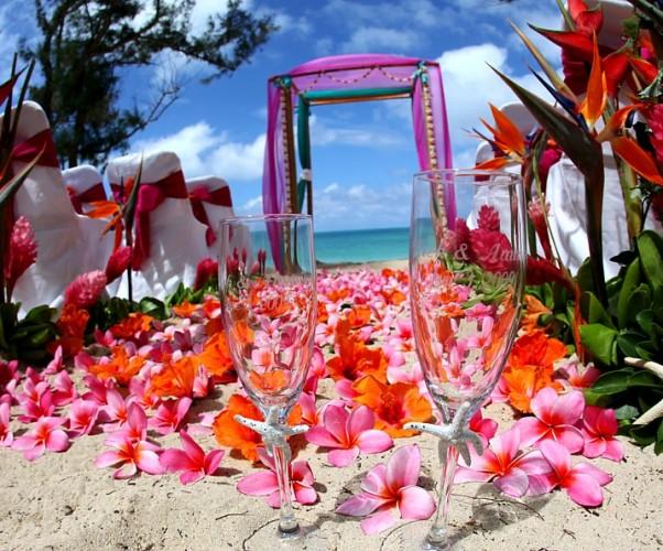 Гавайская свадьба в Доминикане